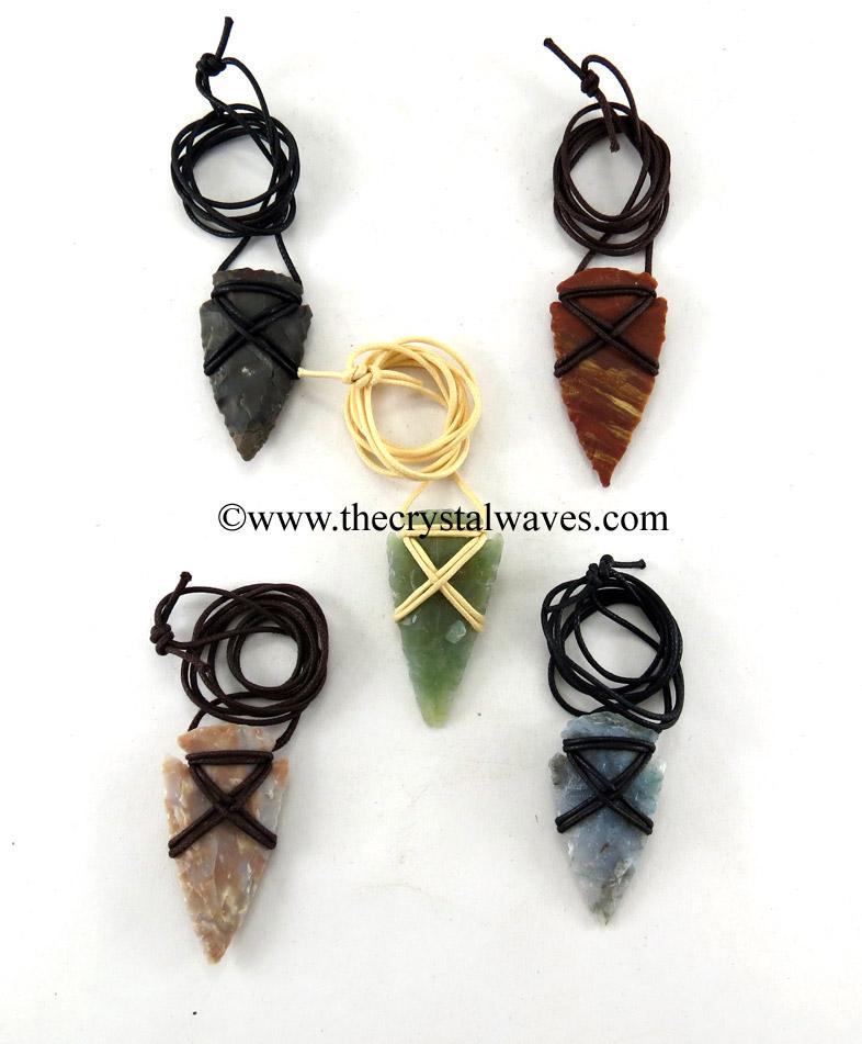Arrowheads & Hand Knapped Pendants