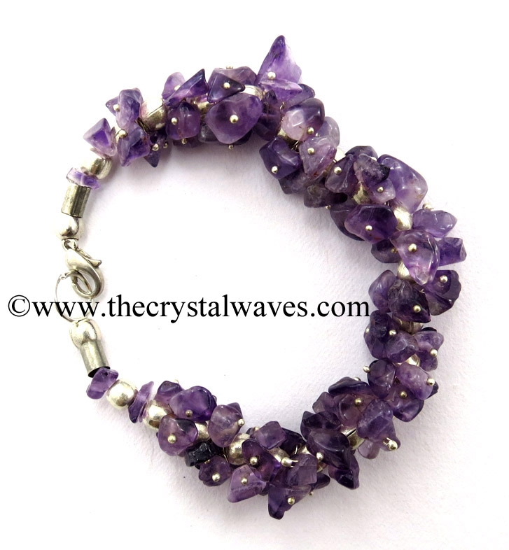 Gemstone Chips Bracelet