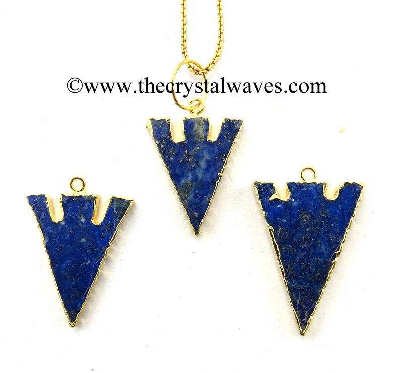 Electroplated Arrowhead Pendants