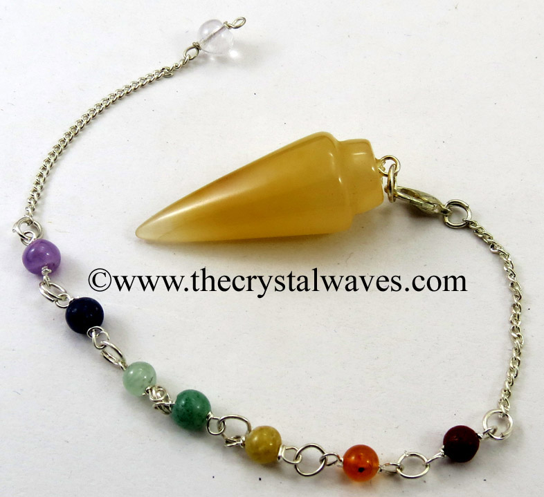 Smooth Pendulums With Chakra Beads Chain