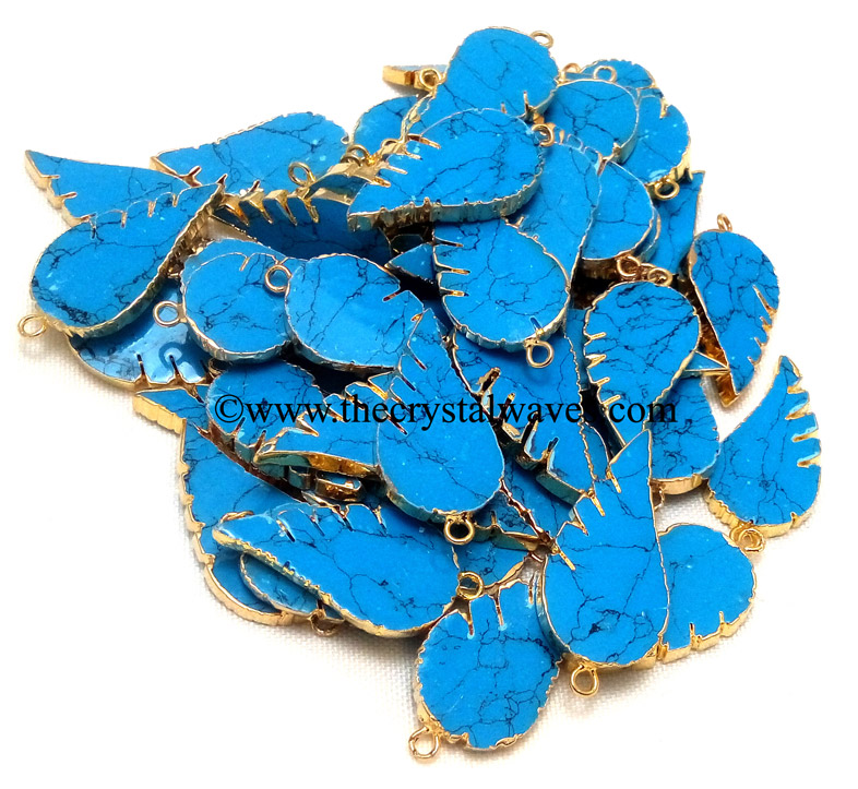 Angel Wings Electroplated Pendants