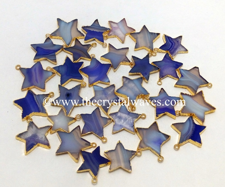 Electroplated Star Pendant