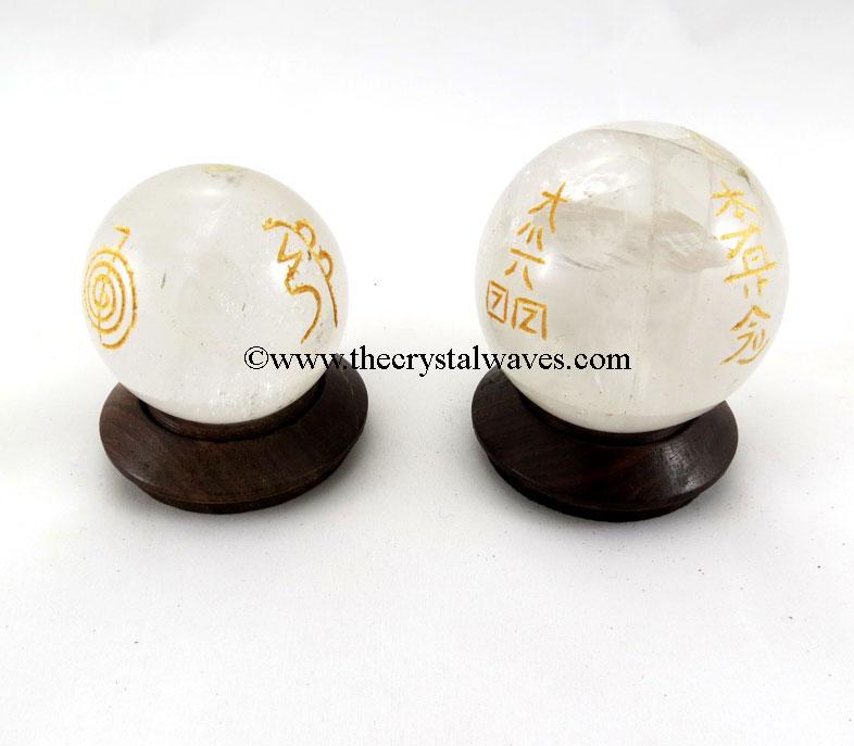 Reiki Engraved Ball/Sphere