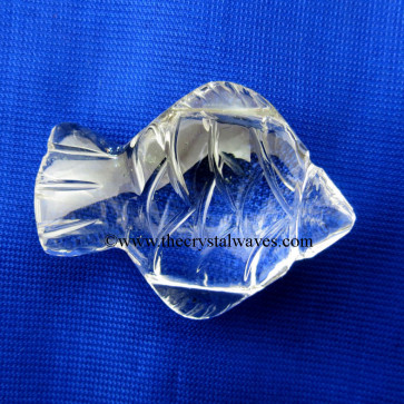 Wholesale Crystal Quartz / Sfatik Hand Carved Fish