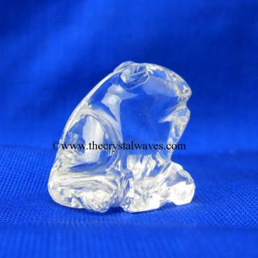 Wholesale Crystal Quartz / Sfatik Hand Carved Frog