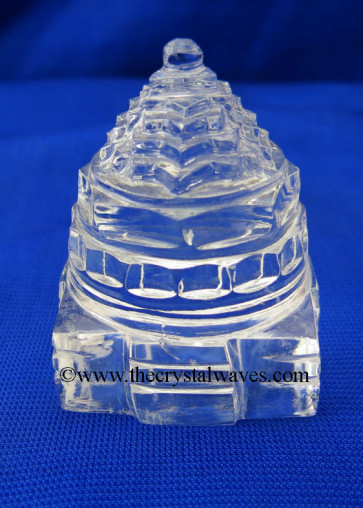 Crystal Quartz Shree Yantra Good Quality 25 To 50 Grms