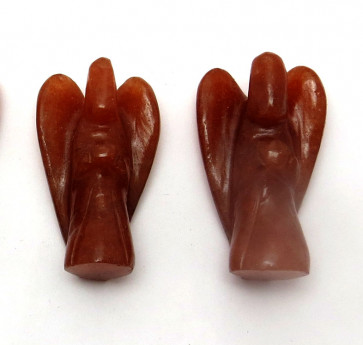 "Red Aventurine 2"" Angels"