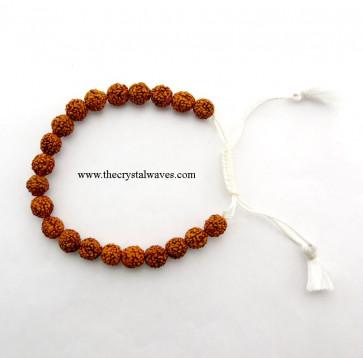 Rudraksha Drawstring Bracelet
