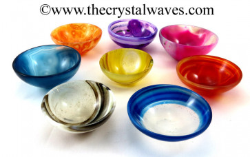 "Mix Assorted Onyx 2"" Bowls"