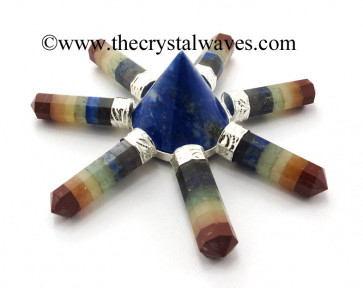 Lapis Lazuli Conical Pyramid Chakra Bonded Pencil Generator