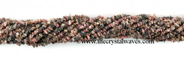 Rhodonite Chips Strands