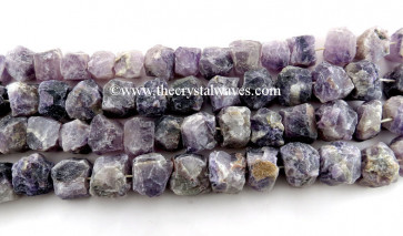 Amethyst Hand Knapped Round Nuggets