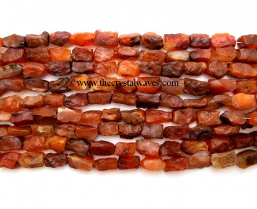 Carnelian Hand Knapped Rectangle Nuggets