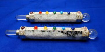 Rainbow Moonstone Chakra Healing Stick