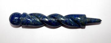 Lapis Lazuli Twisted Healing Stick