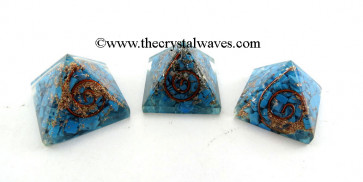 Turquoise Small Orgone Pyramid