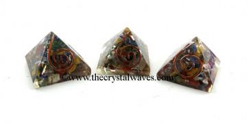 Chakra Small Orgone Pyramid