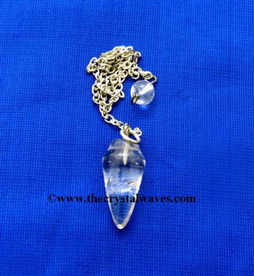 Crystal Quartz Good Quality Smooth Pendulumn