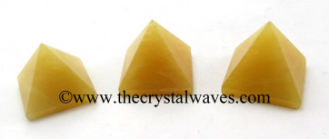 Yellow Aventurine 15 - 25 mm wholesale pyramid