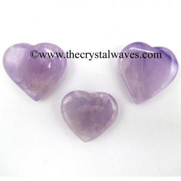 Amethyst 15 -25 mm Pub Hearts