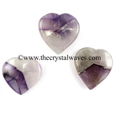 Chevron Amethyst 15 -25 mm Pub Hearts