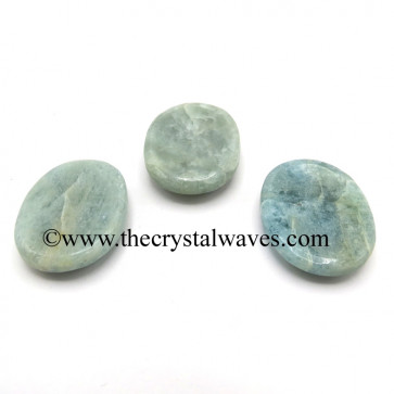 Aquamarine Worry Stones / Thumb Stones