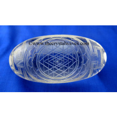 Wholesale Crystal Quartz / Sfatik Lingam Shreeyantra