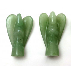 "Green Aventurine (light) 2""  Angels"