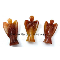 "Red Aventurine  1.50"" Angels"