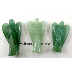 "Green Aventurine (Light)  1.50"" Angels"