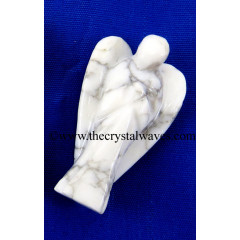 "Howlite 1.50"" Angels"