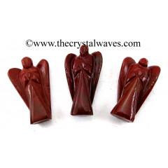 "Red Jasper 3"" Angels"