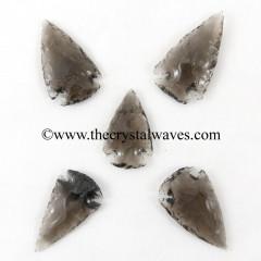"Smoky Obsidian 1"" - 1.50"""