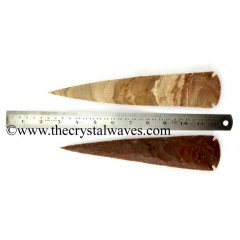 "Fancy Japser Arrowhead 9"" +"