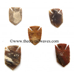 Agate Fish Shaped Arrowhead