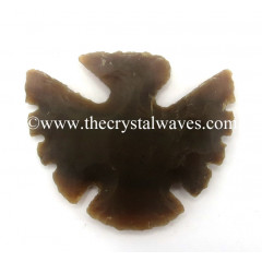 Agate Notched Eagle Arrowhead