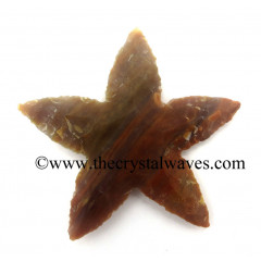 Agate Star Fish Shape Arrowhead