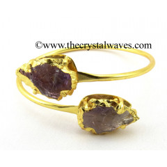 Amethyst  Arrowhead Bangle