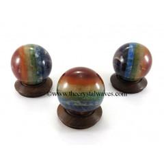 7 Chakra Bonded Ball / Sphere