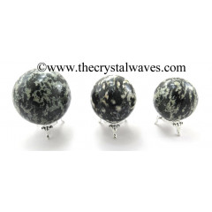 Black & White Tourmaline Ball / Sphere