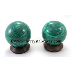 Malachite (Manmade) Ball / Sphere