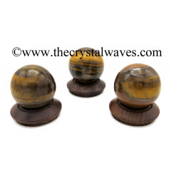 Tiger Eye Agate Ball / Sphere