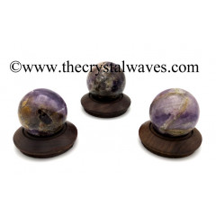 Chevron Amethyst Ball / Sphere
