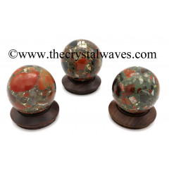 Spotted Jasper Ball / Sphere