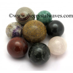 Mix Assorted Gemstones Low Price Ball / Sphere