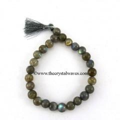 Labradorite Round Beads Power Bracelet