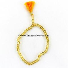 Citrine Round Beads Power Bracelet