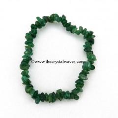 Green Aventurine Chips  Bracelet