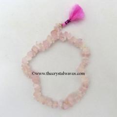 Rose Quartz Chips Power Bracelet