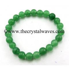Green Round Beads Bracelet